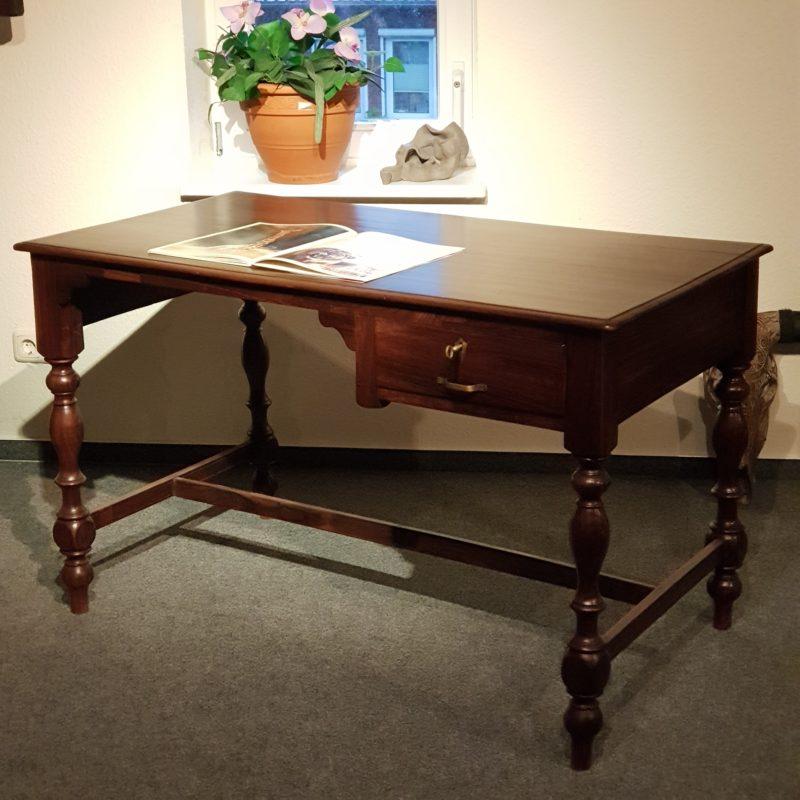 Schreibtisch antik, massiv Palisander, um 1920 Galerie ...